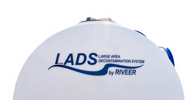 side of lads-large are decontamination system
